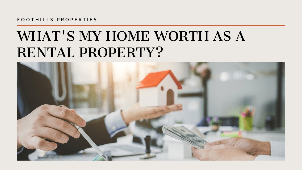 What's My Home Worth As a Tucson Rental Property